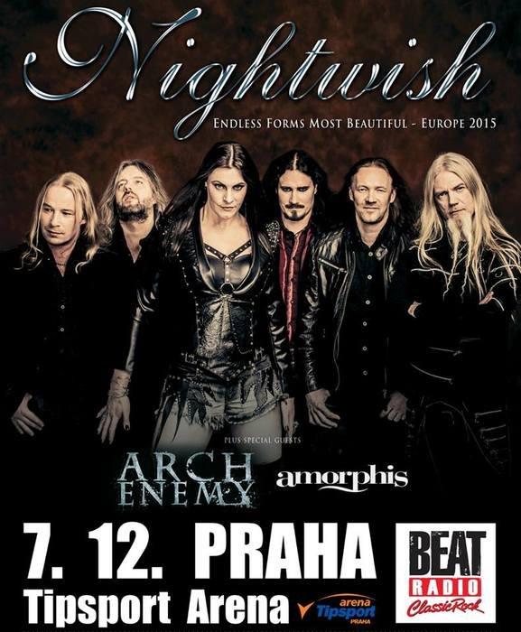 NIGHTWISH, foto: Jaromír Zajda Zajíček