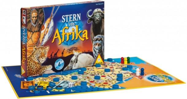 SOUTĚŽ o dobrodružnou deskovou hru HVĚZDA AFRIKY