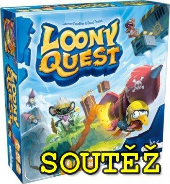 SOUTĚŽ o kreslící party hru LOONY QUEST