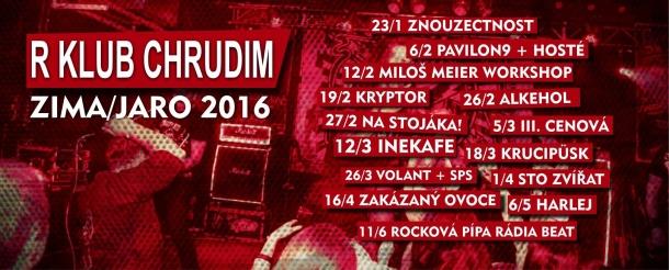 R-klub Chrudim - jaro 2016