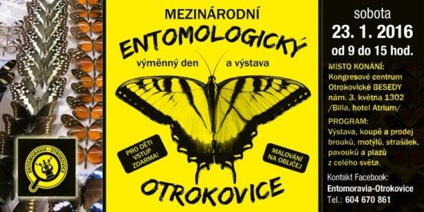 Mezinárodní entomologický výměnný den a výstava - Otrokovice
