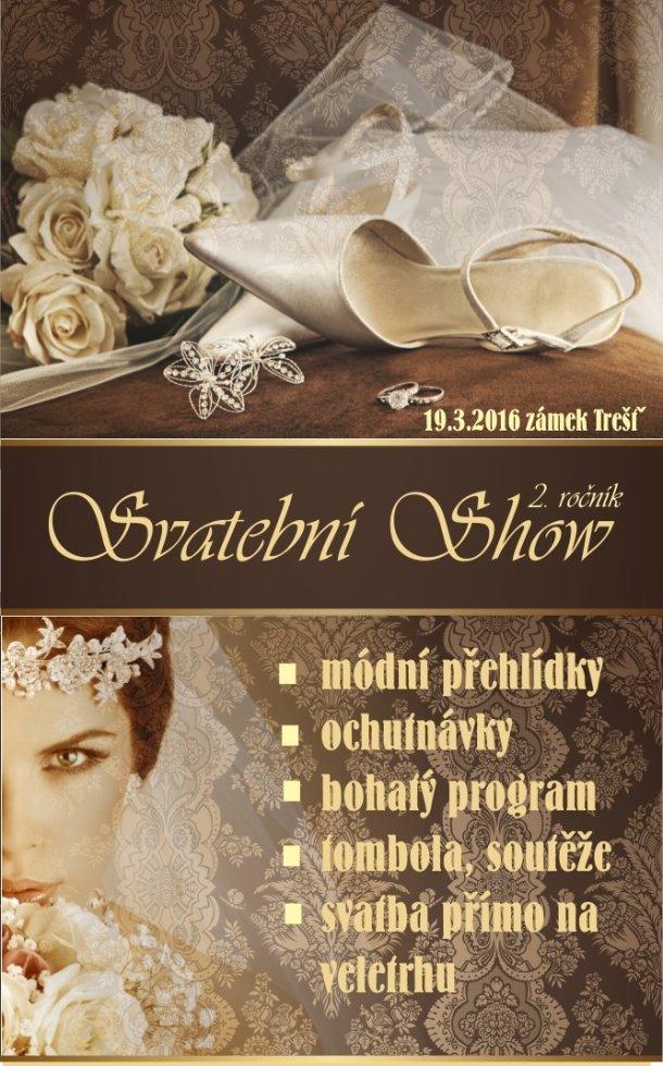 Svatební show v Třešti zažije opravdovou svatbu