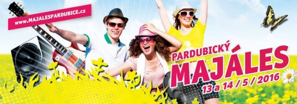 SOUTĚŽ o vstupenky na MAJÁLES PARDUBICE 2016