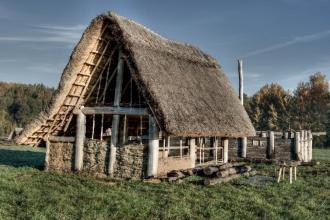 Keltský skanzen, foto: Jaromír Zajda Zajíček