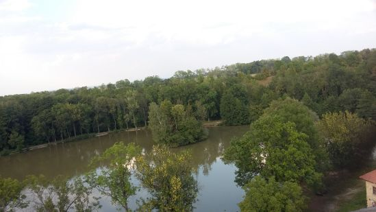 Výhled z vodárenské rozhledny