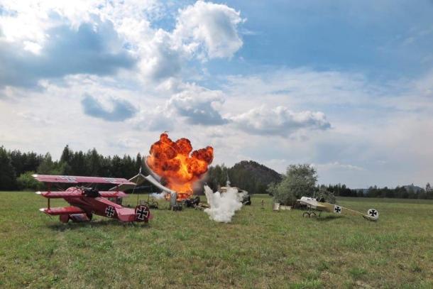 Aviatická pouť v Pardubicích letos zaujme scénou z Velké války