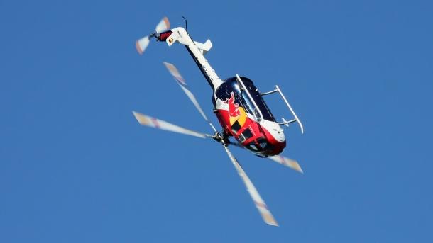 akrobatický vrtulník Bölkow Bö105CB