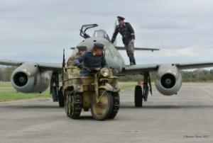Proudový Messerschmitt se během Aviatické pouti představí na pardubickém nebi