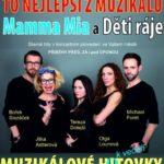 Muzikálové Hi(o)tovky – to nejlepší z muzikálů Mamma Mia a Děti ráje