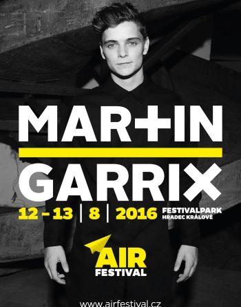 Air festival přiveze Martina Garrixe