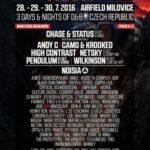 Chase & Status vystoupí na festivalu Let It Roll