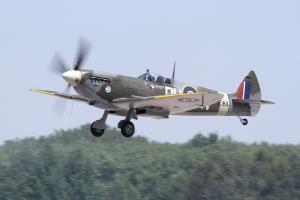 Součástí Aviatické pouti v Pardubicích bude oslava 80. výročí vzletu Supermarine Spitfire