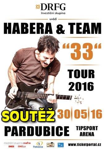 SOUTĚŽ o vstupenky na Habera & Team