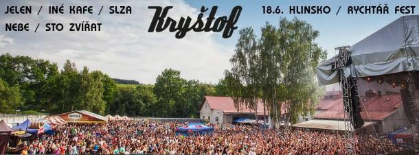 SOUTĚŽ o vstupenky na RychtářFest2016 - Kryštof, Inekafe, Jelen, Sto Zvířat, Slza a Nebe