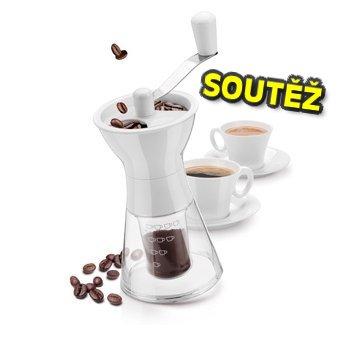 SOUTĚŽ o mlýnek na kávu HANDY