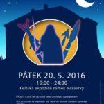 Keltská Muzejní noc na zámku v Nasavrkách