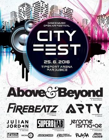 SOUTĚŽ o vstupenky na CityFest