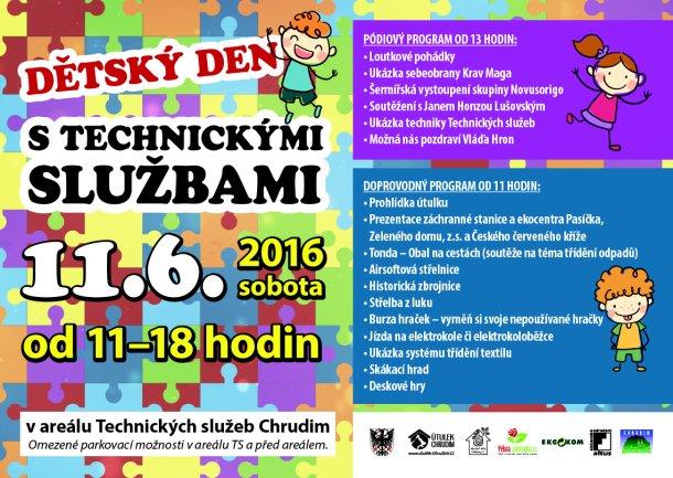 Dětský den s Technickými službami