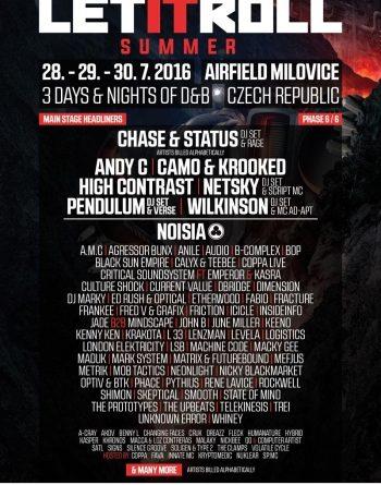 Festival Let It Roll Open Air odhalil všechna jména!