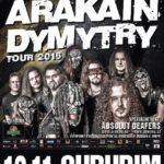 Arakain-Dymytry tour v chrudimské hale
