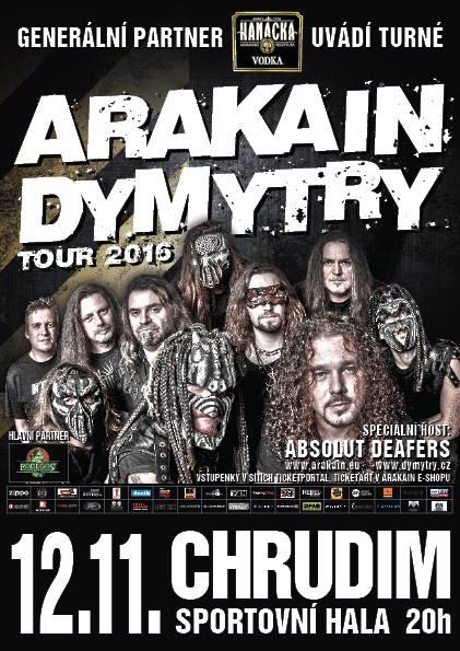Arakain-Dymytry tour