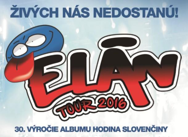 Živých nás nedostanú - ELÁN na turné po 30 letech