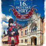 Zámek Sychrov se v srpnu stane dějištěm 16. ročníku Skotských her