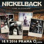 Nickelback dorazí do Prahy už v září