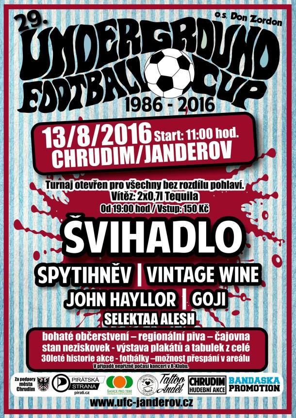 29.Underground Football Cup Chrudim 2016