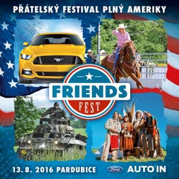 FRIENDS FEST – přátelský festival plný Ameriky