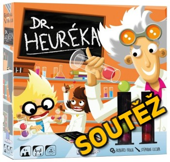 SOUTĚŽ o herní novinku Dr. HEURÉKA