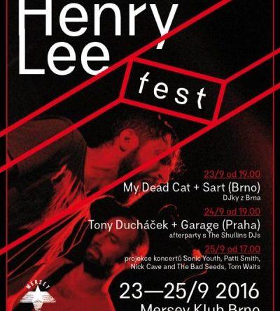 SOUTĚŽ o vstupenky na HENRY LEE FEST v Brně