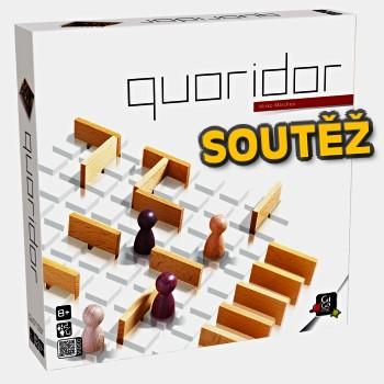 SOUTĚŽ o abstraktní deskovkou hru QUORIDOR
