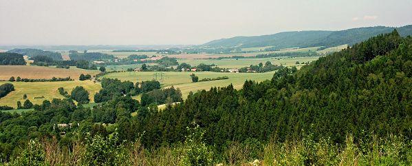 Výhled od Štikovské lípy