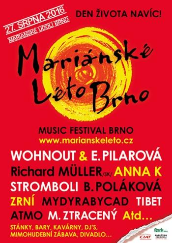 Festival Mariánské léto Brno láme rekordy