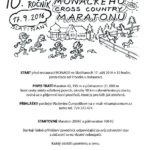 10. ročník Monackého cross-country maratónu již tuto sobotu