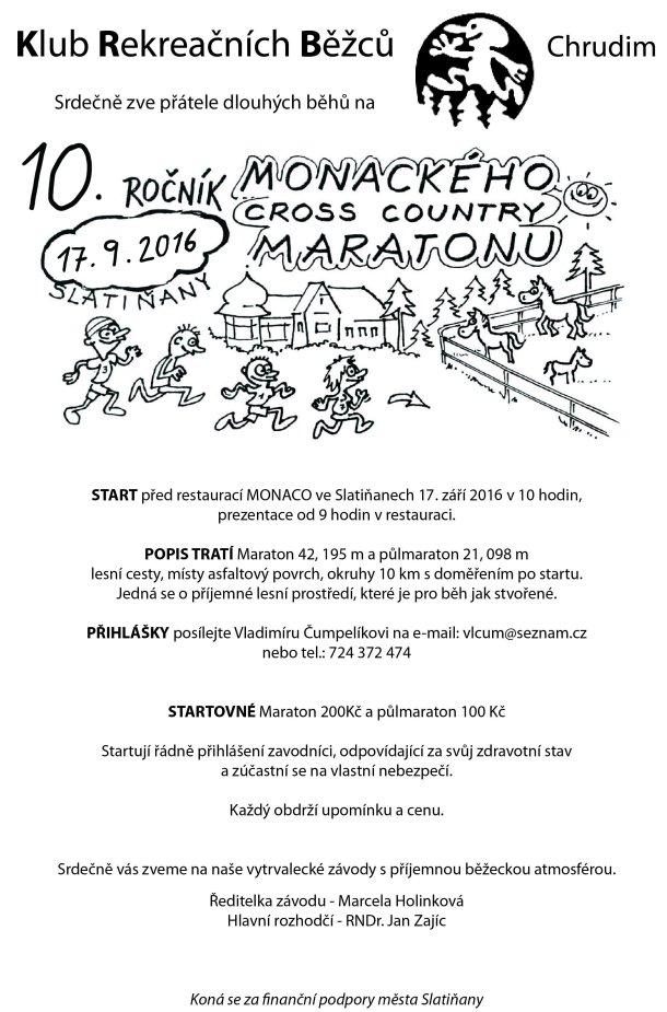 10. ročník Monackého cross-country maratónu