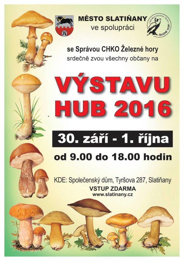Výstava hub ve Slatiňanech