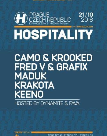 Camo & Krooked se v říjnu vrací do Prahy