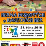 """Páteční Herní klub """"Hrajeme si s Chrudimkou"""" se blíží"""