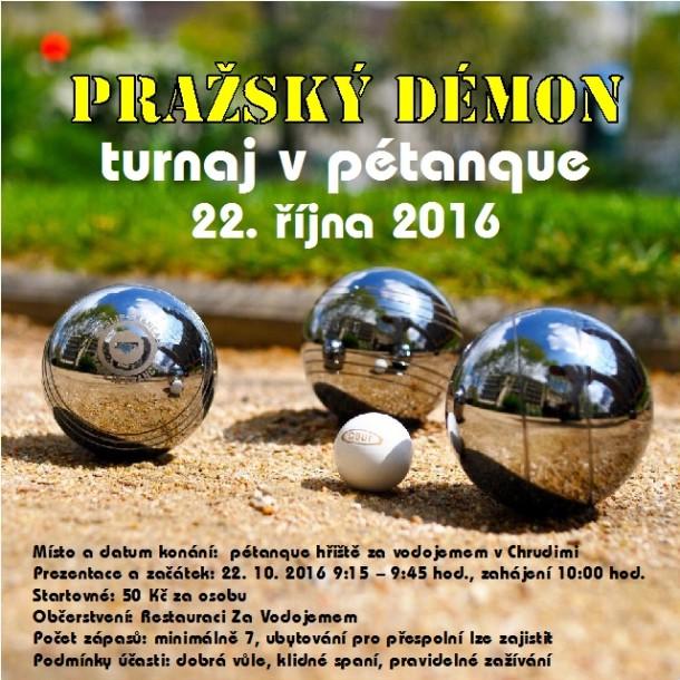 Pražský démon - turnaj v pétanque