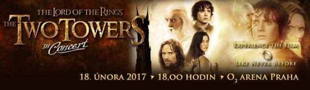 SOUTĚŽ o vstupenky na představení THE TWO TOWERS in Concert, DVD a PC hru