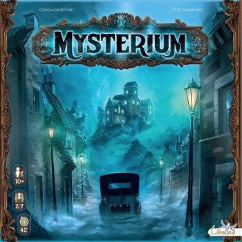 SOUTĚŽ o deskovou hru MYSTERIUM