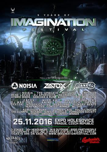 Imagination festival zveřejňuje kompletní lineup