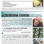 BESEDA: Alzheimerova choroba – fenomén dnešní doby?
