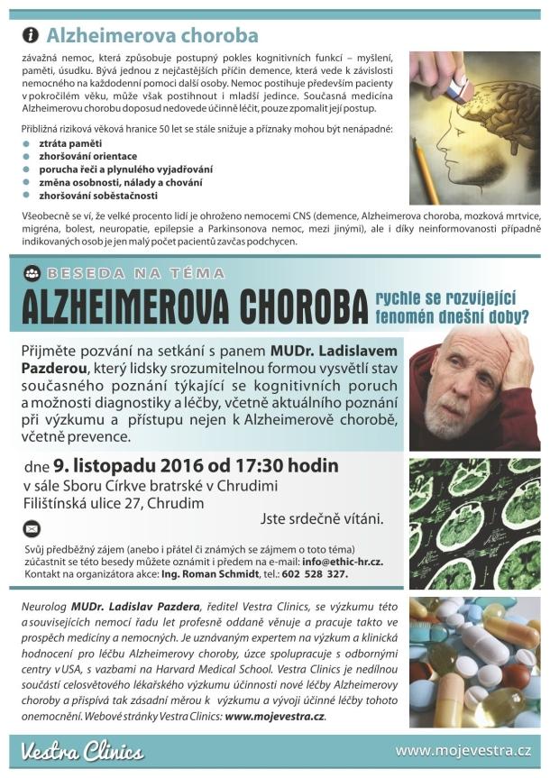 Alzheimerova choroba - fenomén dnešní doby?