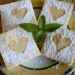 Práškový koláč s jablky