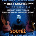 SOUTĚŽ o vstupenky na koncert Andyho McKee – kytarového mistra