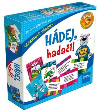 SOUTĚŽ o dětskou deskovou hru HÁDEJ, HADAČI!