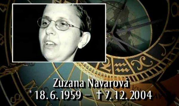Kalendárium - Zuzana Navarová